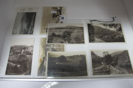 Kinder - Derbyshire, Twelve Early XX Century and Later Picture Postcards, Cards, including Kinder