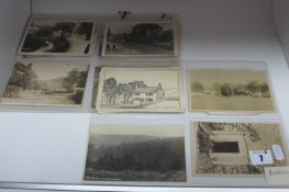 Approximately Seventeen Early XX Century and Later Picture Postcards, relating to Bretton, Brough,