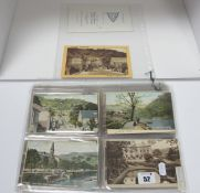 Matlock Bath - Derbyshire, In Excess of Ninety Early XX Century and Later Picture Postcards, to