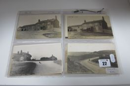 Owler Bar - Derbyshire, Sixteen Early XX Century and Later Picture Postcards, Photographs, including