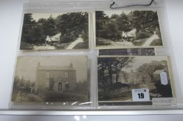 Millthorpe - Derbyshire, Thirteen Early XX Century and Later Picture Postcards, Photograph,