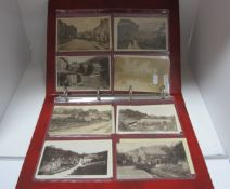 Two Dales - Derbyshire, Seventeen Early XX Century Picture Postcards, including Village, Two Dales