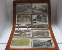 The Snake (A57) Derbyshire, In Excess of Thirty Early XX Century and Later Picture Postcards,