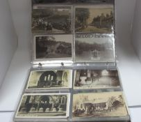 Eyam - Derbyshire, Approximately Two Hundred Early XX Century and Later Picture Postcards, Cards,