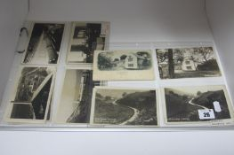 Bradwell - Derbyshire, Twenty One Early XX Century and Later Picture Postcards, including Hazlebadge