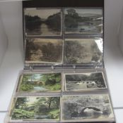 Bamford - Derbyshire, Approximately One Hundred Early XX Century and Later Picture Postcards,