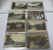 Darley Dale - Derbyshire, Approximately Forty Eight Early XX Century and Later Picture Postcards, to