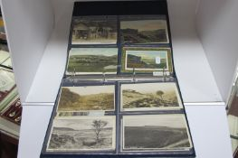 Burbage - Derbyshire Nineteen Early XX Century and Later Picture Postcards, including Pooles Cavern,