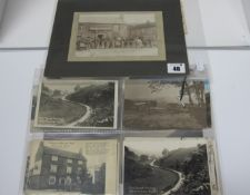 Approximately Eighteen Early XX Century and Later Picture Postcards, Photograph, relating to