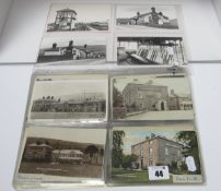 Bamford - Derbyshire, Approximately Forty Five Early XX Century and Later Picture Postcards,