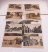 Middleton by Youlgreave - Derbyshire, Twelve Early XX Century Picture Postcards, including The Green