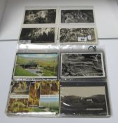 Castleton - Derbyshire, In Excess of Eighty Early XX Century and Later Picture Postcards, to include