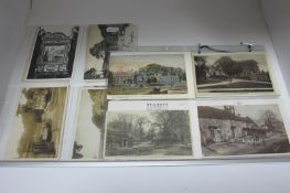 Tissington - Derbyshire, Twenty Two Early XX Century and Later Picture Postcards, including The