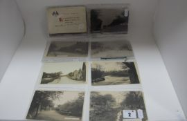 Beighton- Derbyshire, Sixteen Early XX Century and Later Picture Postcards, including Sothall Green,