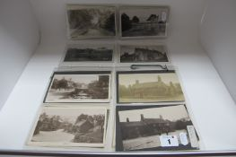 Beeley- Derbyshire, Twenty Four Early XX Century Picture Postcards, including picturesque Beeley,