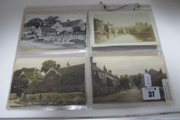 Longshaw - Derbyshire, Twenty Plus Early XX Century and Later Picture Postcards, including Village