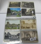 Castleton - Derbyshire, Approximately Sixty Early XX Century and Later Picture Postcards, to include