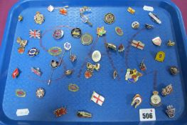 A Collection of Enamel Pins/Badges, including Boddingtons Bitter, British Legion, Help For Heroes,