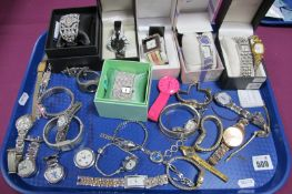 A Mixed Lot of Assorted Ladies Wristwatches, including Joma Jewellery, Pulsar, Oasis, Figaro,
