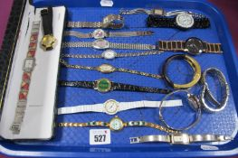 Gems TV and Other Ladies Wristwatches :- One Tray