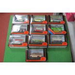 Ten EFE 'OO' Buses, all Yorkshire related, all boxed.