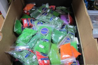 Over Fifty Various Unused Bags of Scenery Decoration, by Modelmaster.