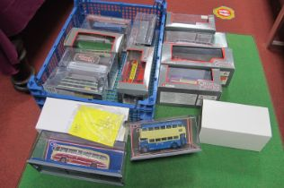 Twelve Corgi Original Omnibus Buses, single and double decks, all cased.