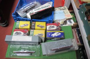Ten Atlas Based Diecast Ships and Vehicles, including Eddie Stobart, all boxed.