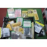 A Large Quantity of 'OO'/4mm Scale Spare Bogie Parts/Underframe Kits, all similar items, all in