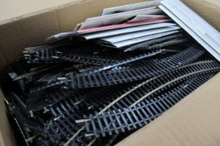 A Good Quantity of Mainly Hornby 'OO' Track, including points.