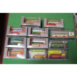 Eleven Corgi Original Omnibus Buses, single and double deckers, all cased, but some detached from