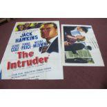 Filt Poster 'The Intruder', starring Jack Hawkins, George Cole, Dennis Price, approximately 202cm