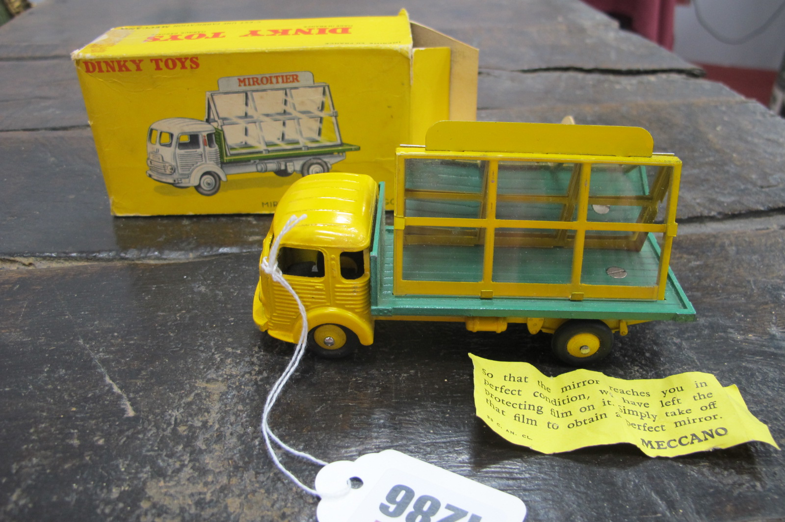 Dinky Toys - French Miroiter Simca 'Cargo' 33C, in original box (sellotaped).