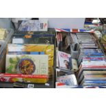 DVD's 'Marigold Hotel, boxed set of The Hollow Crowns, classical cd's, art books on Van Gogh etc:-