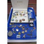 """Enamel and Other Badges, including """"Prefect Per Laborem Ad Honorem"""", HM Armed Forces Veteran, """"0EIIR"""