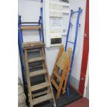 Taurus Folding Steps, others in pine, metal, etc. (4)