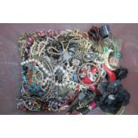 A Mixed Lot of Assorted Costume Jewellery :- One Box