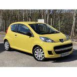 [MA61 KPU] 2011 Peugeot 107 1.0 Urban Lite 3-door hatchback in Yellow, 9,167 Miles, MOT expired
