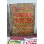 Circus/Fairground Freak Show Memorabilia - A circa 1920's -1940's era, advertising sign found as (