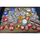 Tin Badges - Kids Against Pit Closures, Nalgo, Support The Miners, Coal Not Dole, I'm Not a Sun