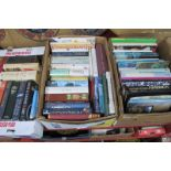 John le Carre Novels, A Perfect Spy etc, Alan Bennet, Untold Stores and other novels:- Three Boxes.