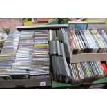 A Large Quantity of CD's, varying genres, including DVD's. Plus some empty cases, hangover cures