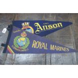 Royal Marines Pennant, and one other (2)