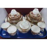 Delphine Early XX Century China Tea Services, of thirty four pieces.