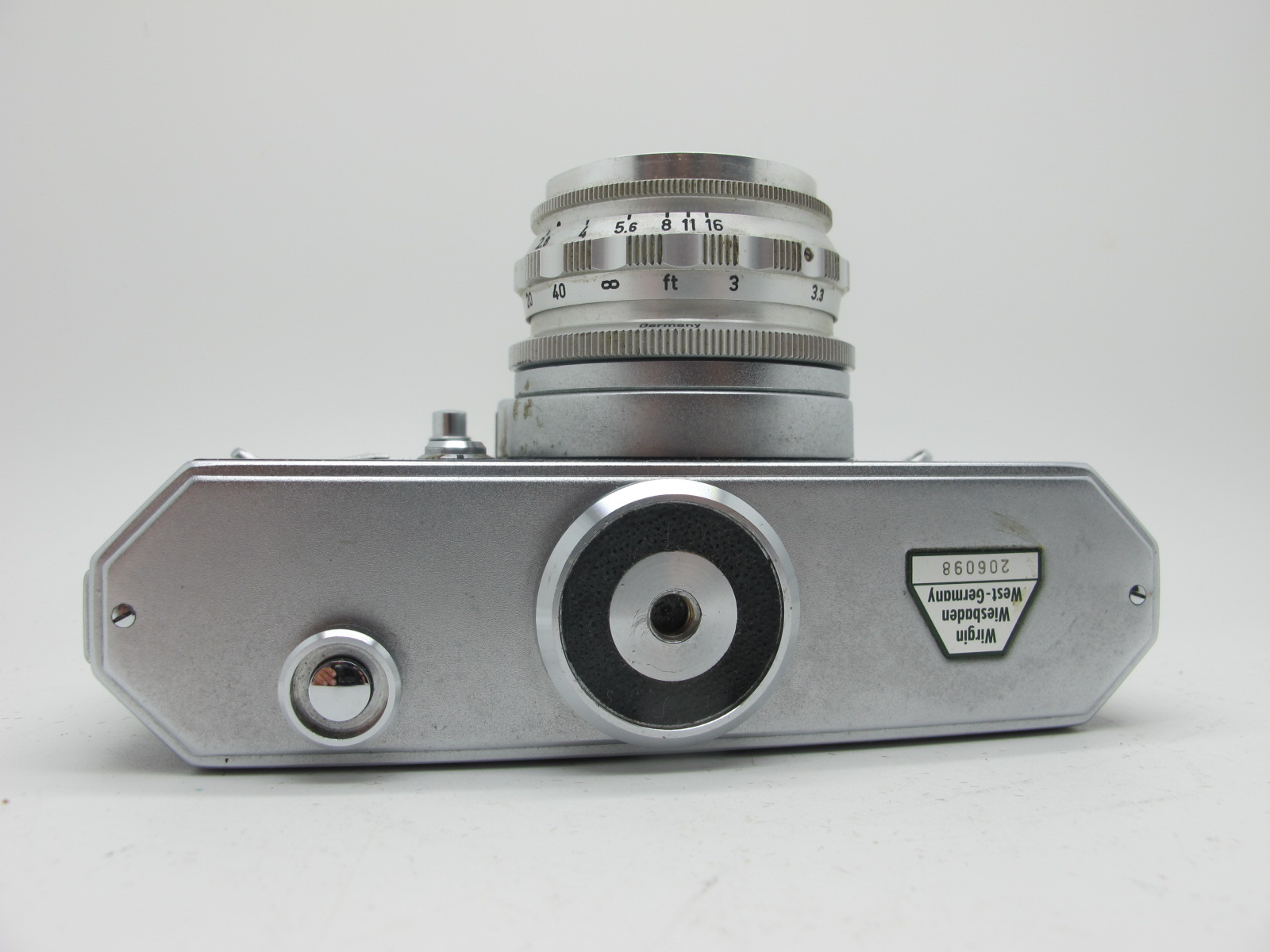 Saraber Goslar Finetta 88, Edika Flex, plus two other camera's in brown leather cases. (4) - Image 7 of 13