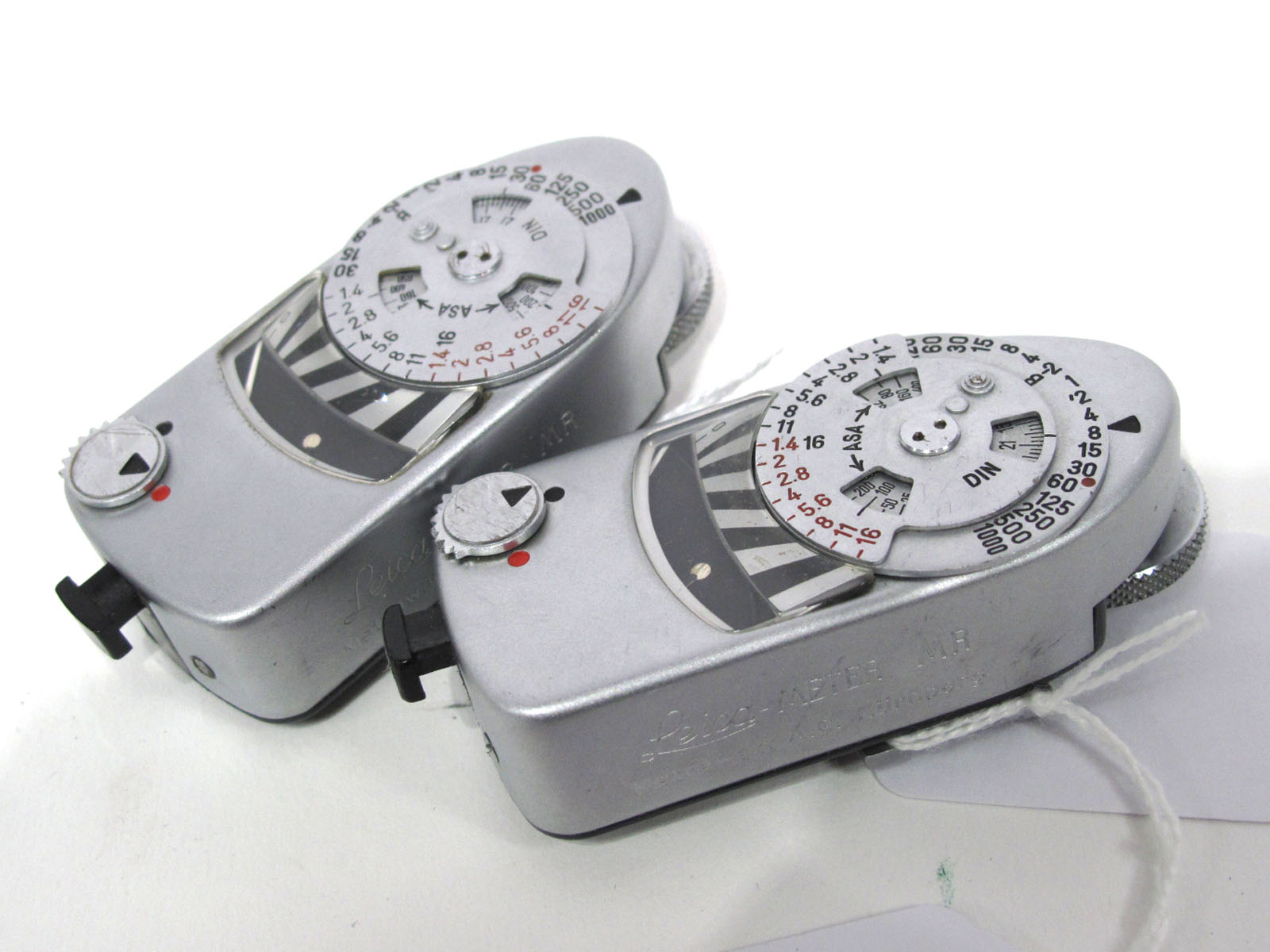 Two Leica Meter MR.