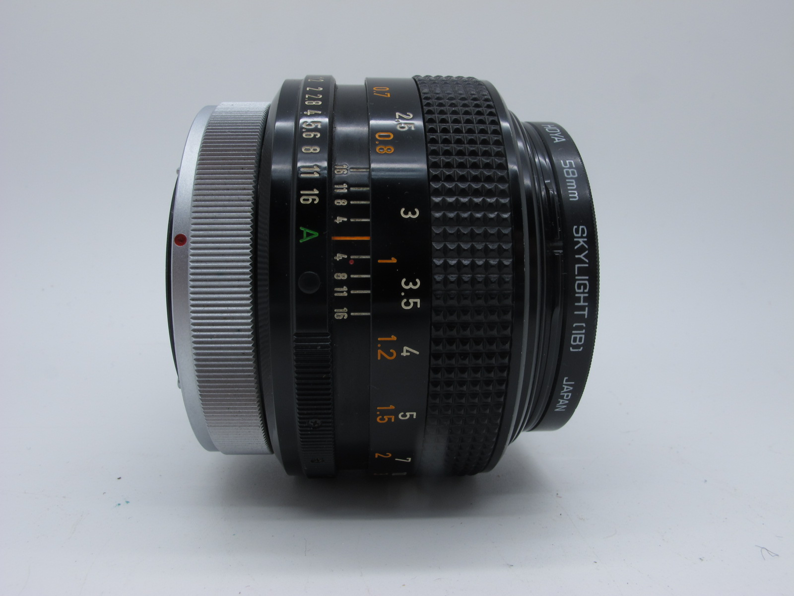 Canon Lens, FD 55mm 1:12 S.S.C. lens, in canvas case. - Image 5 of 6