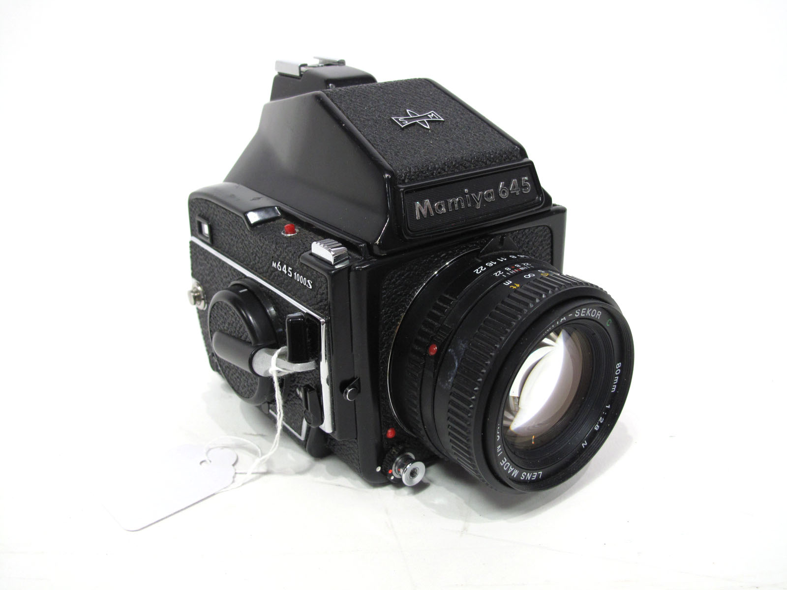 Hamiya M645 1000 S and Sekor 80mm 1.28 Lens.
