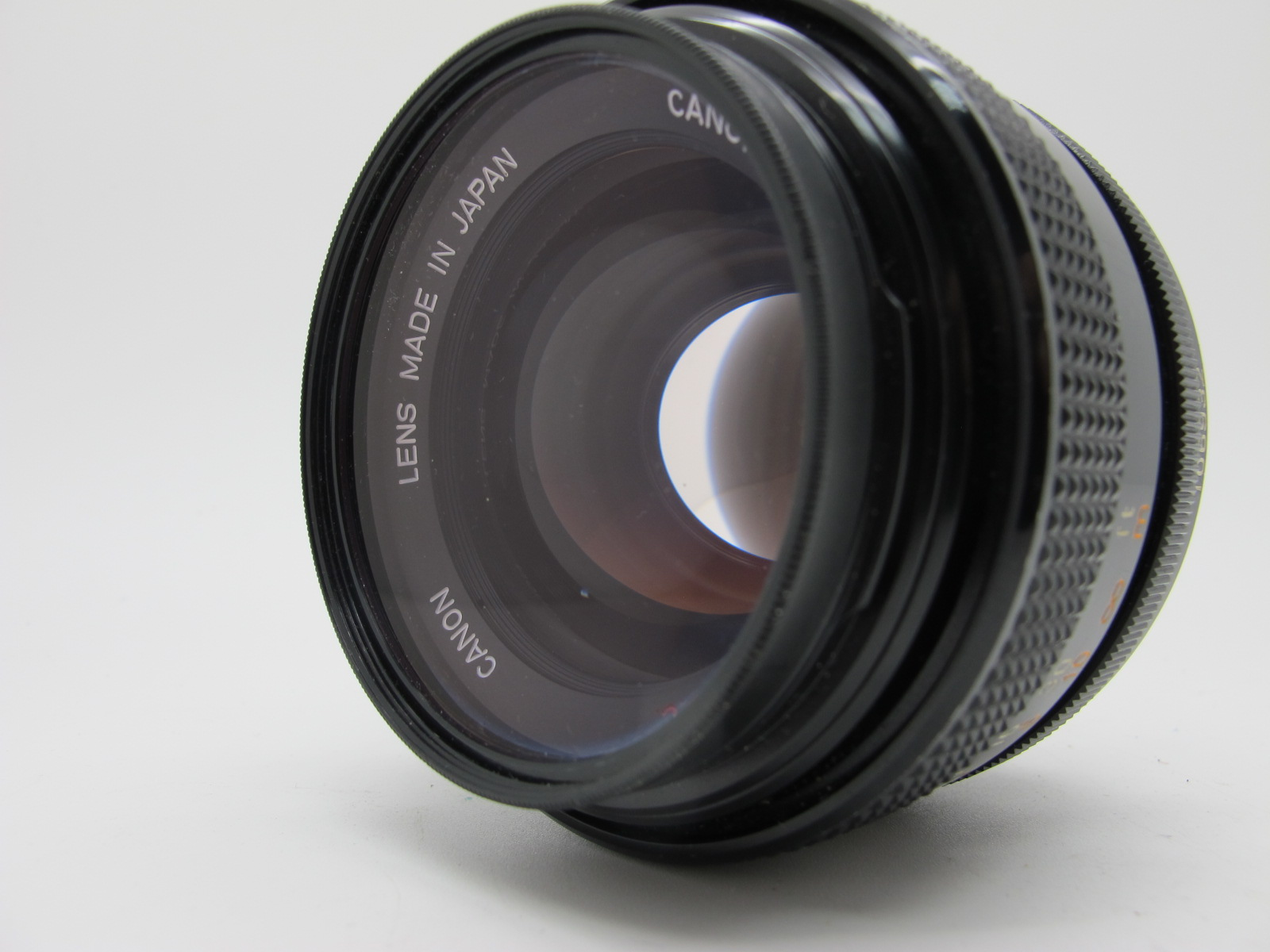 Canon Lens, FD 55mm 1:12 S.S.C. lens, in canvas case. - Image 3 of 6