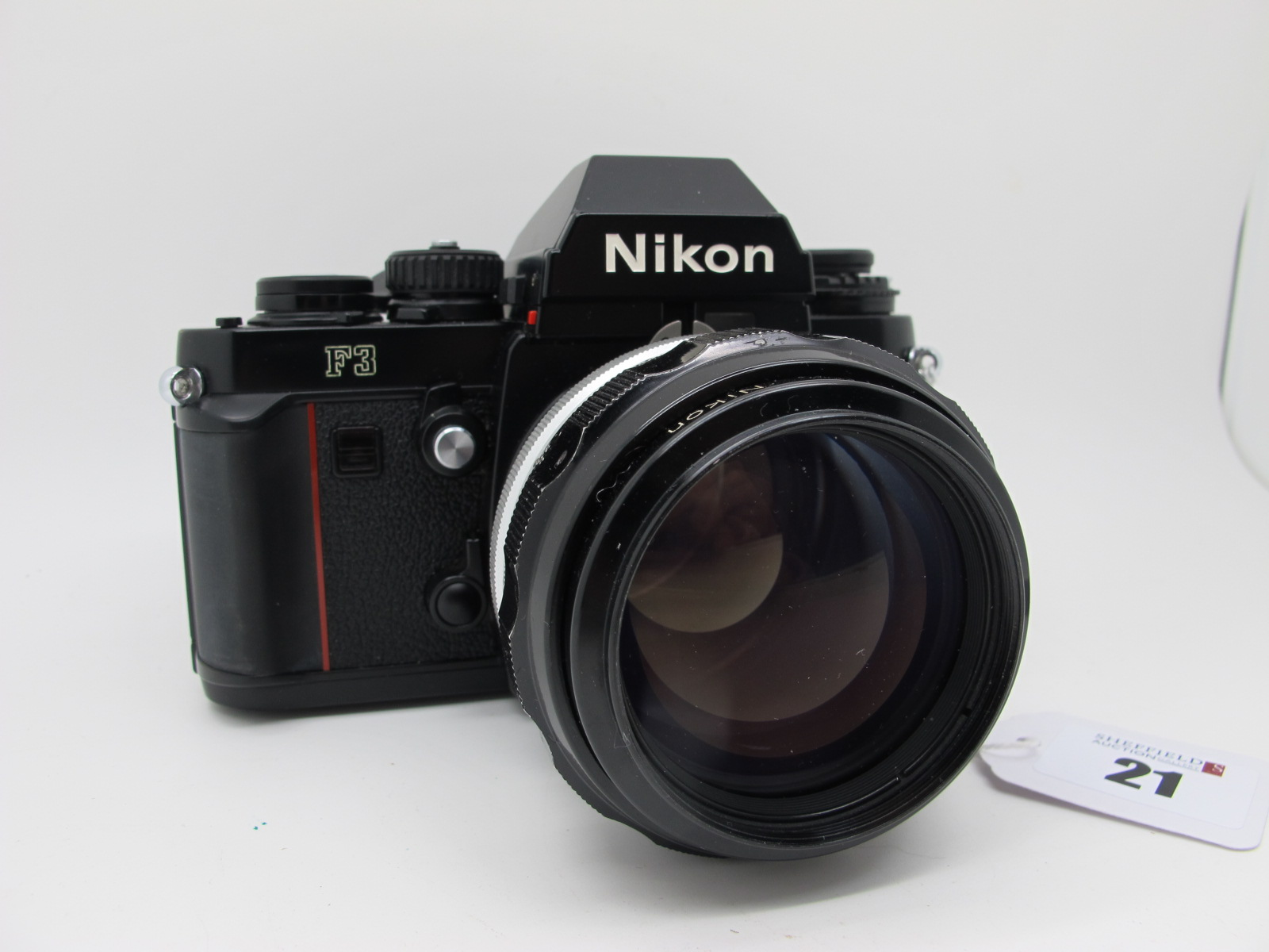 Nikon F3, with Nikkor-H Auto 1-18 f=85mm lens. - Image 3 of 9